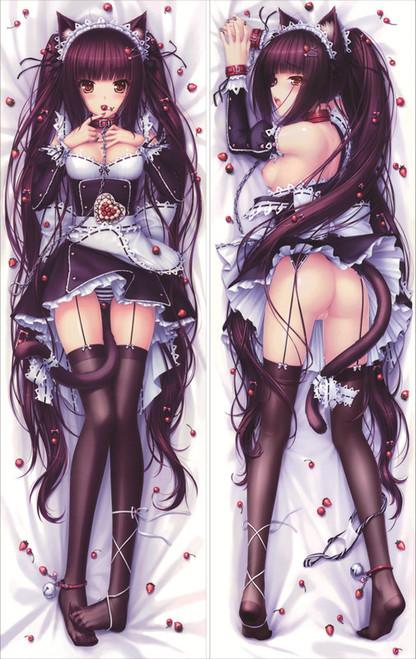 Nekopara - Vanilla Artist Sayori Anime Dakimakura Pillow Cover   -4