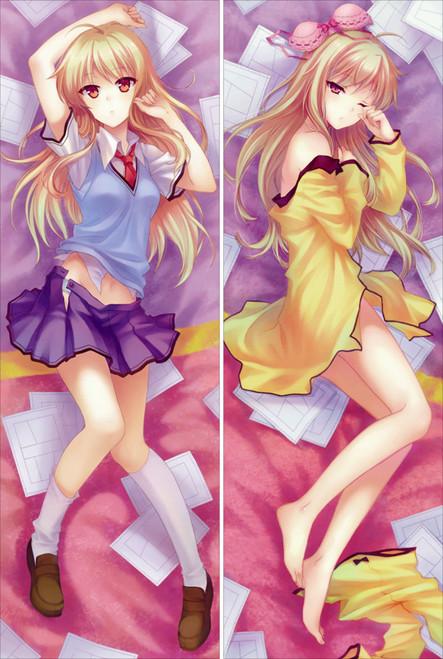 The Pet Girl of Sakurasou - Shiina Mashiro Anime Dakimakura Pillow Cover   -1