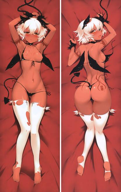 Black Rock Shooter Strength Anime Dakimakura Pillow Cover