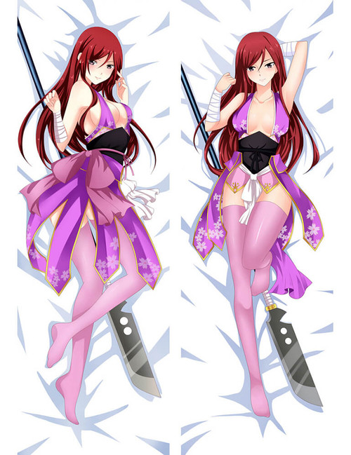 Fairy Tail - Erza Scarlet  Anime Dakimakura Pillow Cover
