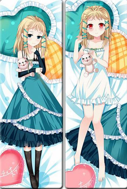 Black Bullet - Tina Sprout Anime Dakimakura Japanese Pillow Cover  1