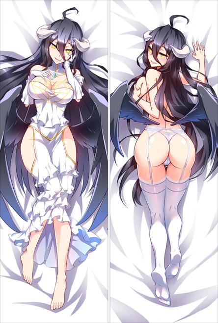 Overlord - Albedo Anime Dakimakura Japanese Pillow Cover 1