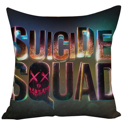 Suicide Squad Margot Robbie Harley Quinn And Joker Cushion Case Throw Pillow Cover-10