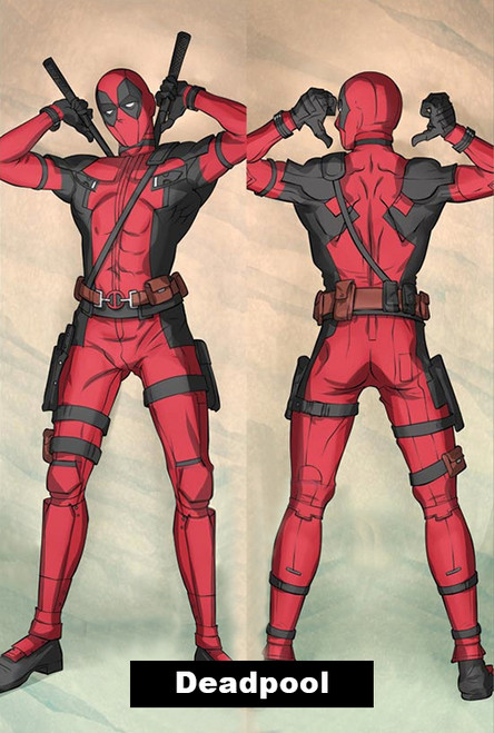 Deadpool Dakimakura Pillow Cover