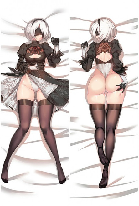 NieR: Automata 2B Anime Dakimakura Body Pillow Cover