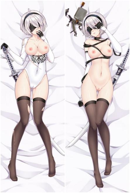 NieR: Automata 2B Anime Dakimakura Body Pillow Cover-1
