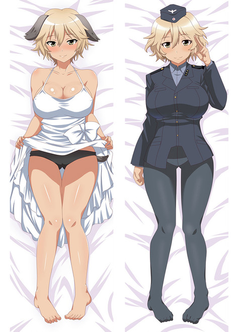 2017 Newly Anime Carton Brave Witches Dakimakura Hugging Body Pillow Case cover