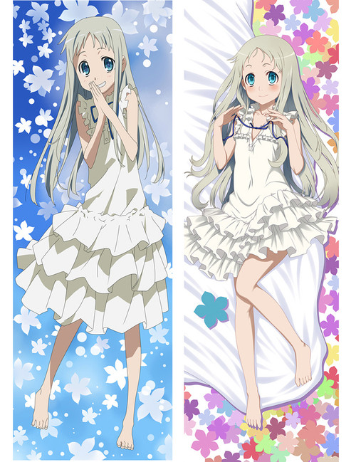2017 New Anohana, The Flower We Saw That Day - Meiko Honma Anime Dakimakura Pillow Cover