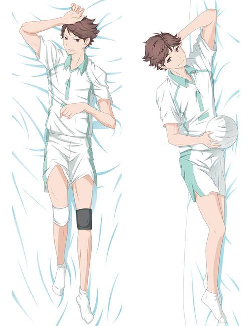 2017 New Anime Haikyuu!! Tooru Oikawa Dakimakura Hugging Body Pillow Case Cover