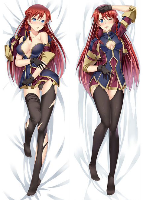 2017 New Re:Creators Selesia Yupitiria Otaku Dakimakura Hugging Body Pillow Case Cover