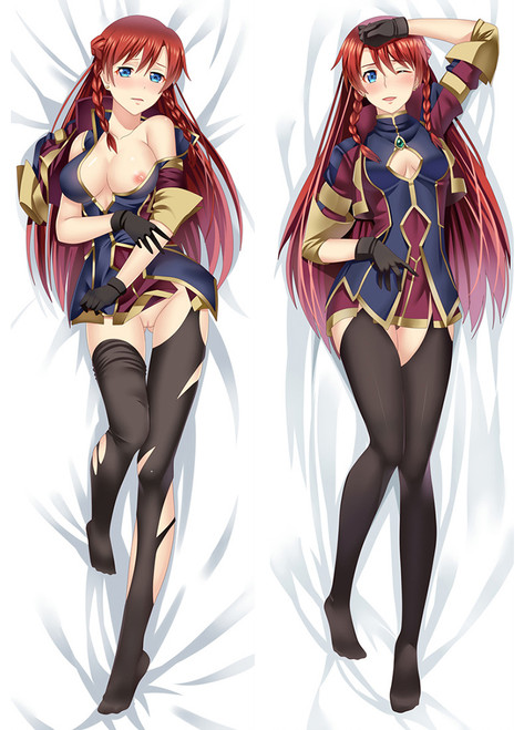 2017 New Re:Creators Nude Selesia Yupitiria Otaku Dakimakura Hugging Body Pillow Case Cover