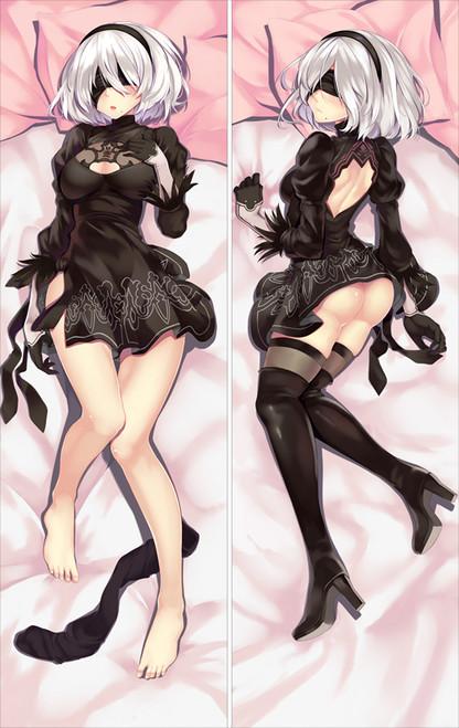 Anime Dakimakura Game NieR:Automata 2B Hugging Body Pillow Case cover