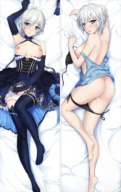 Anime Dakimakura Pillow Case The Idolmaster Cinderella Girls Anastasia Hugging Body Pillow Case Cover