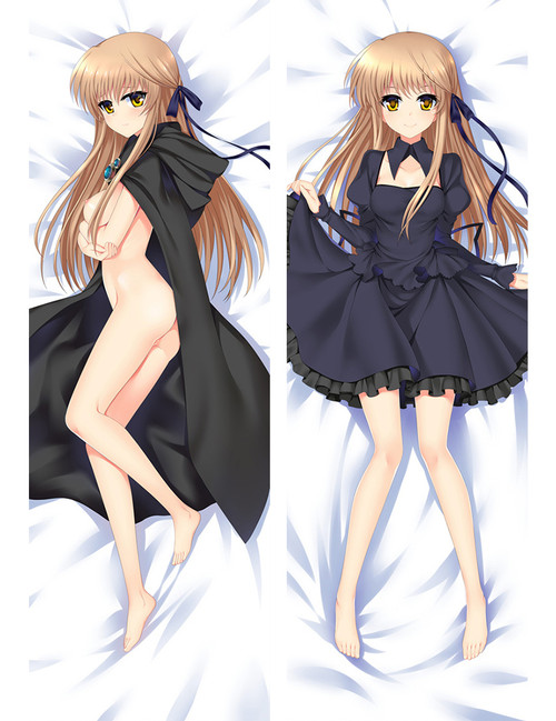 Anime Games Otaku Dakimakura Rewrite Nude Senri Akane Hugging Body Pillow Case