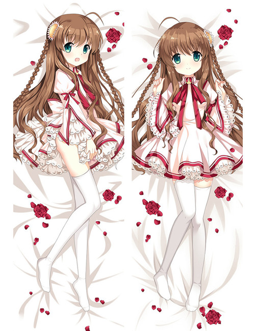 Anime Otaku Dakimakura Rewrite Kanbe Kotori Hugging Body Pillow Case