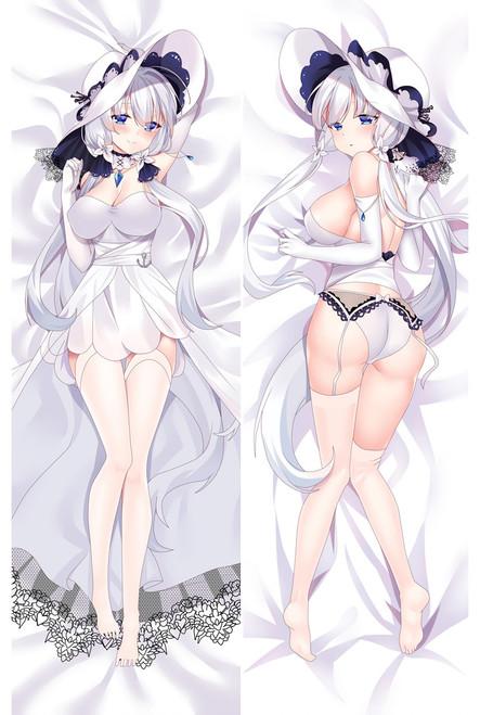 Anime Game Azur Lane Illustrious Dakimakura Otaku Japan Pillow Case Cover Hugging Body