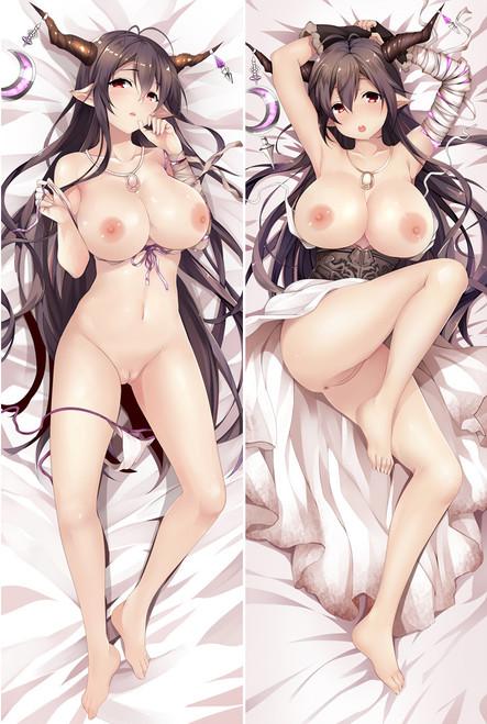 Anime Granblue Fantasy Danua Dakimakura Nude Hug Body Pillow Case