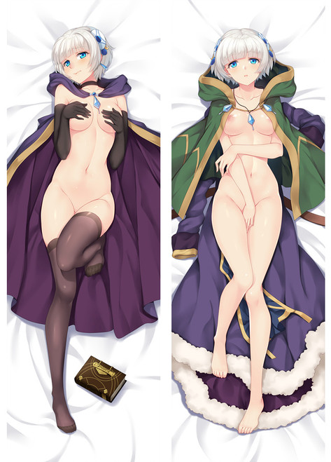 R18 Anime Re:CREATORS Meteora Österreich Dakimakura Hugging Body Pillow Case Cover