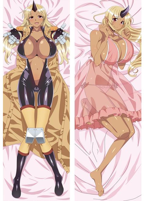 Anime Monster Musume No Iru Nichijou Tionishia Dakimakura Body Pillow Case