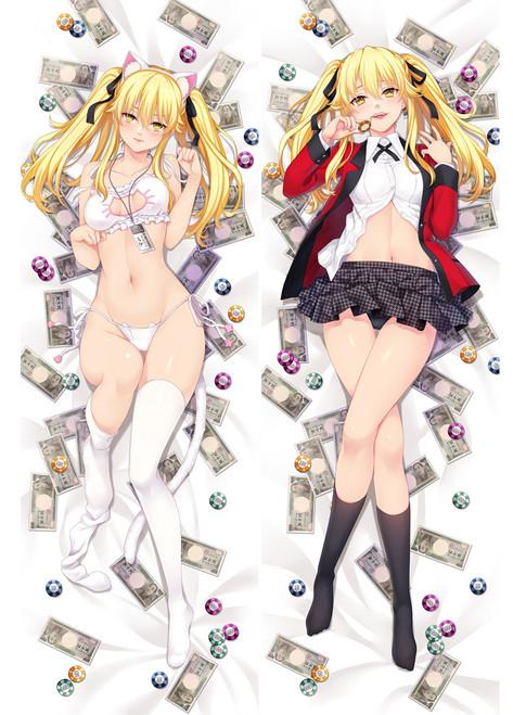 Anime Kakegurui Compulsive Gambler Saotomebunari Dakimakura Hug Body Pillow Case Cover