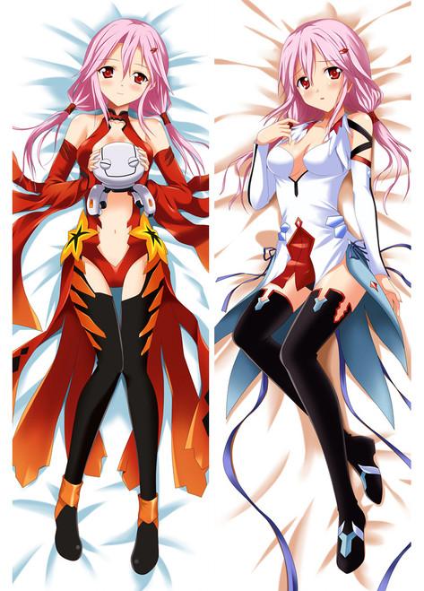 Dakimakura anime Guilty Crown sexy girl yuzuriha inori Body Pillow Cover Cases