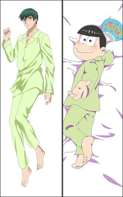 Hot Anime Osomatsu-kun Anime Dakimakura Pillow Cover-1