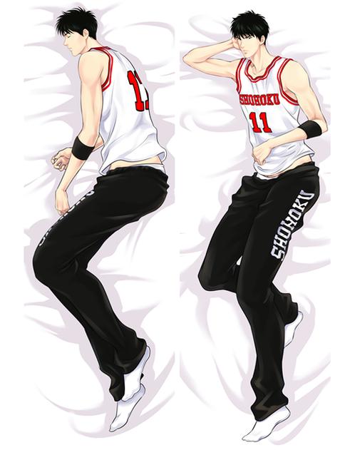 Hot Anime Slam Dunk Rukawa Kaede Anime Dakimakura Pillow Cover