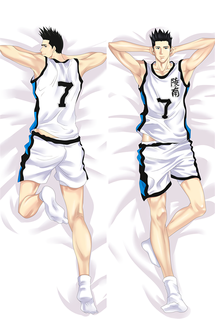 Hot Anime Slam Dunk Sendoh Akira Anime Dakimakura Pillow Cover
