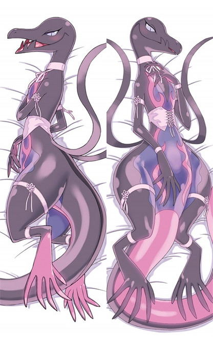 Hot Anime Pokémon Salazzle Anime Dakimakura Pillow Cover