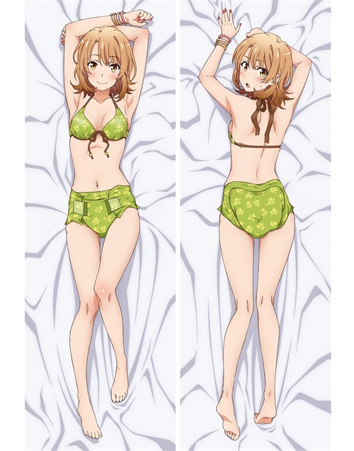 Hot Anime My Youth Romantic Comedy Is Wrong, As I Expected Isshiki Iroha Anime Dakimakura Pillow Cover
