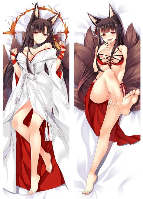 Azur Lane Akagi Anime Dakimakura Pillow Case-1