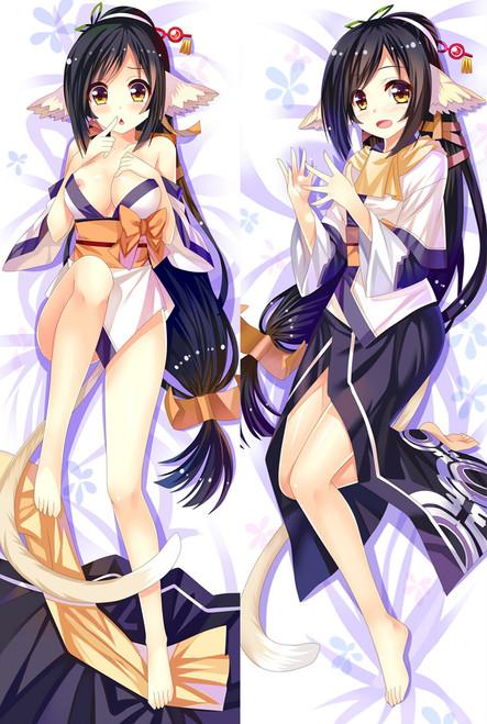 Utawarerumono Kuon Anime Dakimakura Pillow Cover