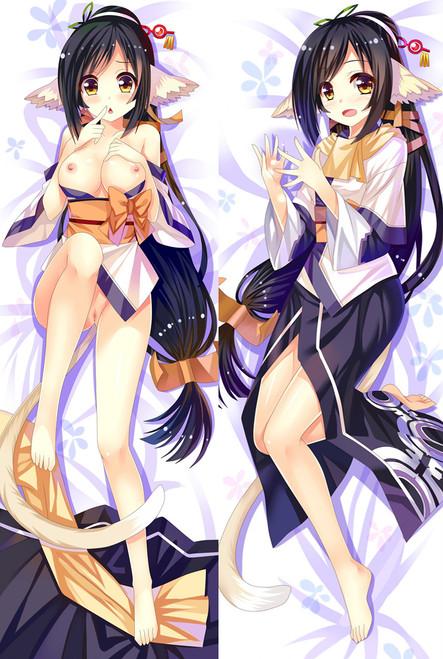 Utawarerumono Kuon Anime Dakimakura Pillow Cover-1