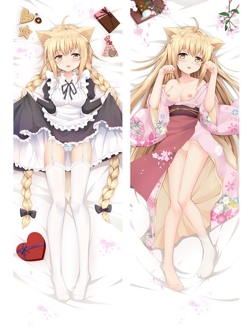 Konohana Yuzu Anime Dakimakura Pillow Case