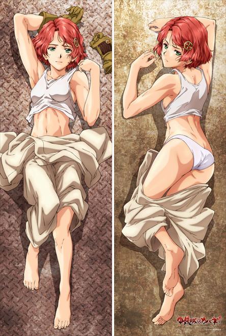 Kabaneri of Iron Castle Yuna Anime Dakimakura Pillow Case