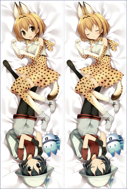 Kemono Friends Kaban Anime Dakimakura Pillow Cover