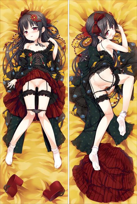 Monobeno Hachiroku Anime Dakimakura Pillow Cover-2