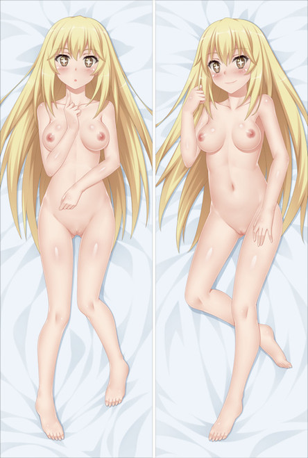 A Certain Scientific Railgun Misaki Shokuhou with Double Sides Zipper To Make Love Anime Dakimakura Pillow Case