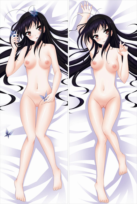Accel World Kuroyukihime with Double Sides Zipper To Make Love Anime Dakimakura Pillow Case