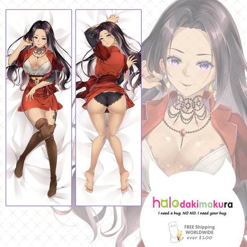 Violet Evergarden Cattleya Baudelaire Anime Dakimakura Pillow Case
