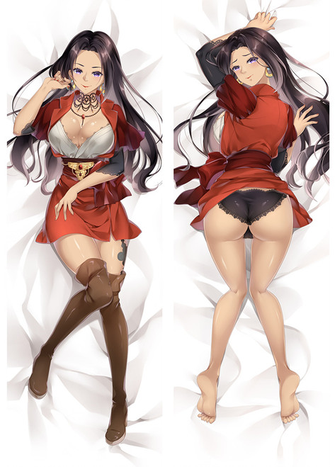 Violet Evergarden Claudia Hodgins Anime Dakimakura Pillow Cover
