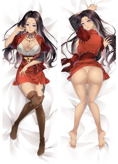 Violet Evergarden Claudia Hodgins Anime Dakimakura Pillow Cover-1