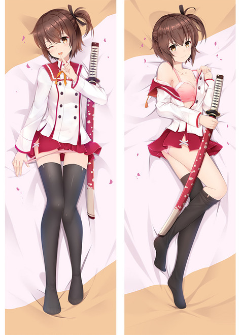 Katana Maidens ~ Toji No Miko Kanami Etō Anime Dakimakura Pillow Cover