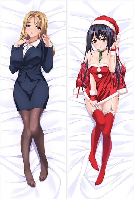 JK and Erotic Convenience Store Manager Virgin Mother Dumplings Anime Dakimakura Pillow Cover