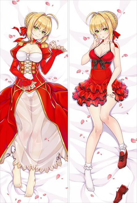 Fate Grand Order FateGO FGO Nero Claudius Anime Dakimakura Pillow Cover