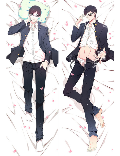 Haven't You Heard? I'm Sakamoto Sakamoto Anime Dakimakura Pillow Cover