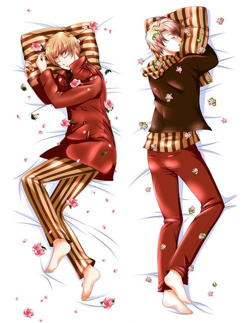 Hetalia: Axis Powers Hetalia HETALIA APH Anime Dakimakura Pillow Cover