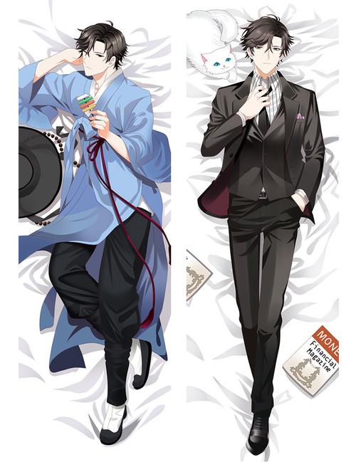 Mystic Messenger Jumin Han Anime Dakimakura Pillow Cover