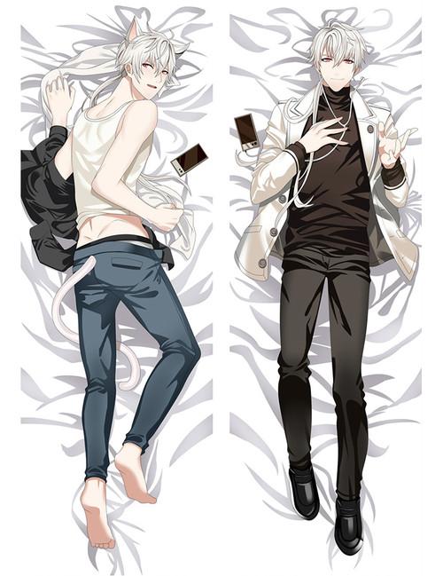 Mystic Messenger 707 Anime Dakimakura Pillow Cover-2