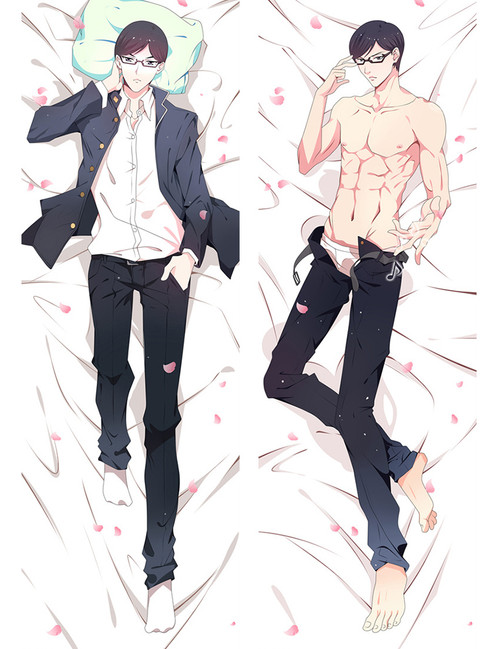 Haven't You Heard? I'm Sakamoto Sakamoto Anime Dakimakura Pillow Cover-1